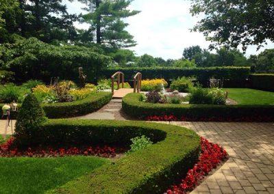 Gardens Behind The Mansion